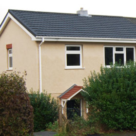 Penywaun External Wall Insulation