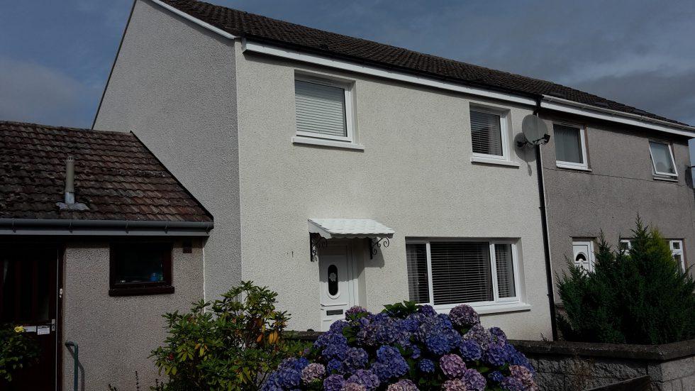 External Wall Insulation, Angus