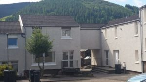 External Wall Insulation, Peebles
