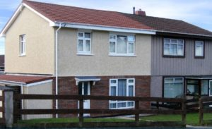 External Wall Insulation Refurbishment Newport