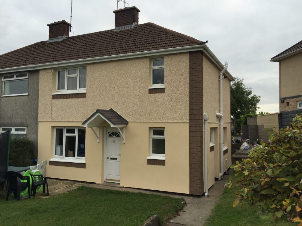 RCT homes, External Wall Insulation